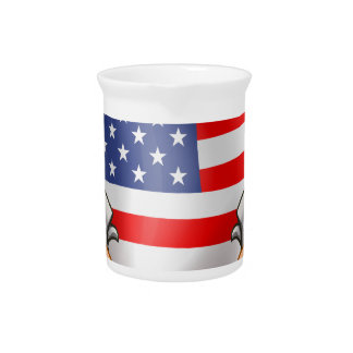 Flag and Guns Drink Pitchers