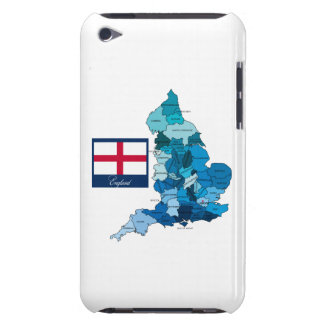 Flag and Map of England Case-Mate iPod Touch Case