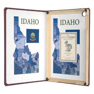 Flag and Map of Idaho iPad Air Case