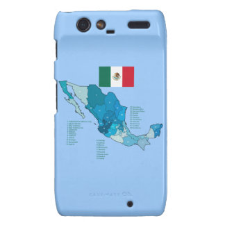Flag and Map of Mexico Motorola Droid RAZR Cover