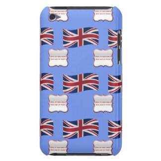 Flag and Motto of the UK iPod Case-Mate Case