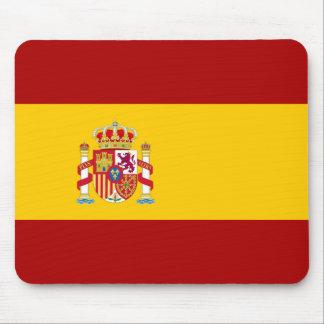 Flag and simbols of Spain Mousepad
