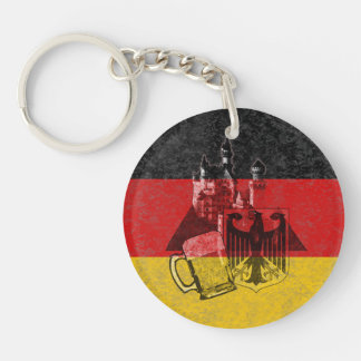 Flag and Symbols of Germany ID152 Keychain