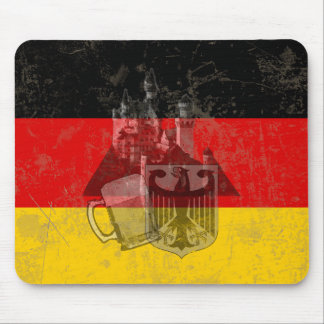 Flag and Symbols of Germany ID152 Mouse Pad