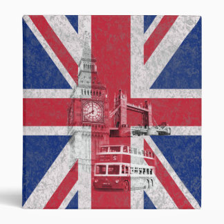 Flag and Symbols of Great Britain ID154 Binder