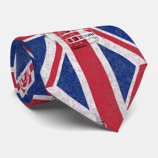 Flag and Symbols of Great Britain ID154 Tie