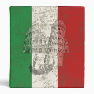 Flag and Symbols of Italy ID157 Binder