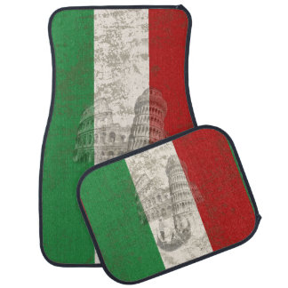 Flag and Symbols of Italy ID157 Car Mat