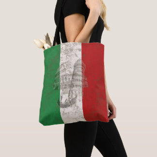 Flag and Symbols of Italy ID157 Tote Bag