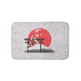Flag and Symbols of Japan ID153 Bathroom Mat