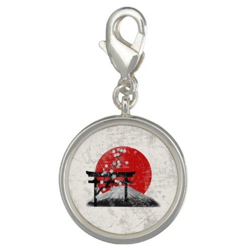 Flag and Symbols of Japan ID153 Charm