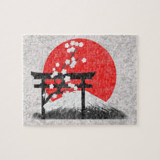 Flag and Symbols of Japan ID153 Jigsaw Puzzle
