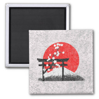 Flag and Symbols of Japan ID153 Magnet