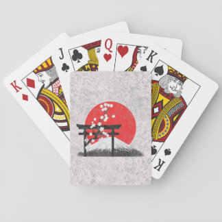 Flag and Symbols of Japan ID153 Playing Cards