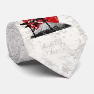 Flag and Symbols of Japan ID153 Tie