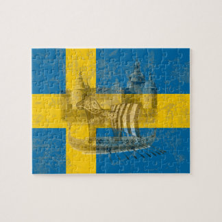 Flag and Symbols of Sweden ID159 Jigsaw Puzzle