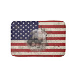 Flag and Symbols of United States ID155 Bath Mat
