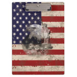 Flag and Symbols of United States ID155 Clipboard