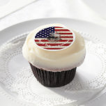 Flag and Symbols of United States ID155 Edible Frosting Rounds