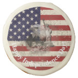 Flag and Symbols of United States ID155 Sugar Cookie