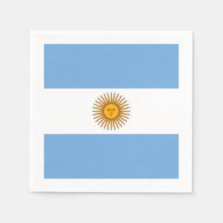 Flag: Argentina Napkin