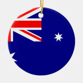 Flag Australia. Australian symbol Ceramic Ornament