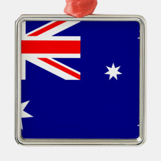 Flag Australia. Australian symbol Metal Ornament