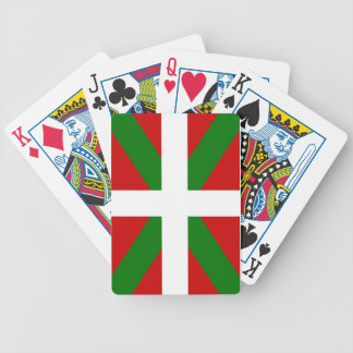 Flag Basque Country euskadi Bicycle Playing Cards