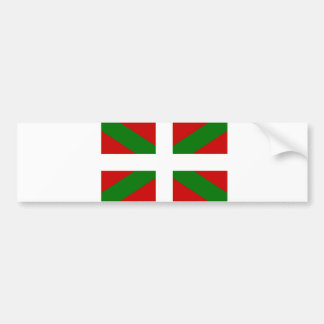 Flag Basque Country euskadi Bumper Sticker