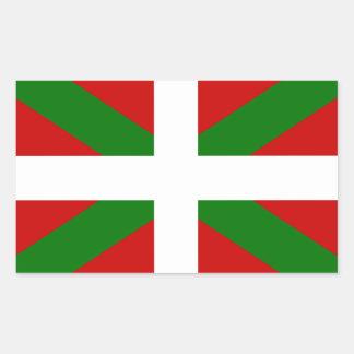 Flag Basque Country euskadi Rectangular Sticker