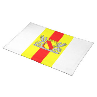 Flag bathing coat of arms of Baden Placemat