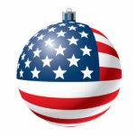 Flag bauble ornament