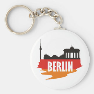 Flag Berlin Keychain