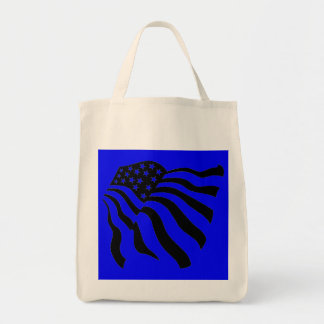 Flag Blowing in the Wind - Tote Bag
