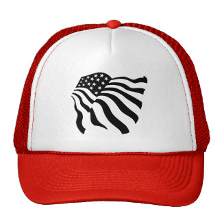 Flag Blowing in the Wind - Trucker Hat