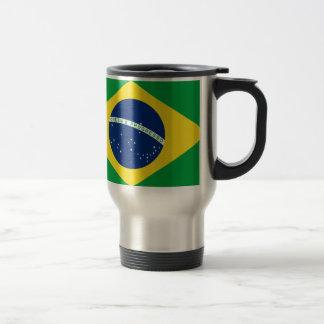 Flag Brazil. República Federativa do Brasil Travel Mug