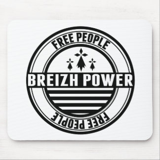 flag Breton Breizh Brittany free people Mouse Pad