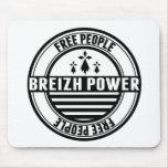 flag Breton Breizh Brittany free people Mousepad
