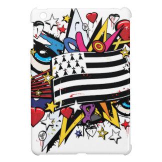 Flag Brittany Breizh Breton graffiti graff iPad Mini Case