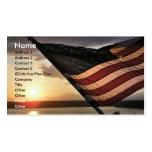 Flag Business Card Template