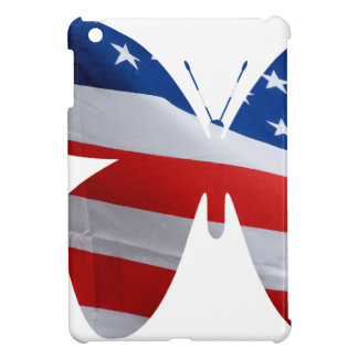 flag butterfly iPad mini cases