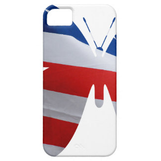 flag butterfly iPhone SE/5/5s case