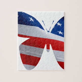 flag butterfly jigsaw puzzle