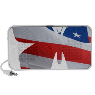 flag butterfly mp3 speakers