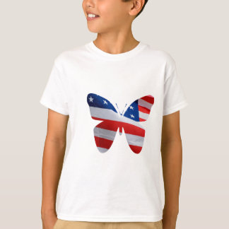 flag butterfly T-Shirt