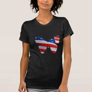 flag butterfly t-shirts