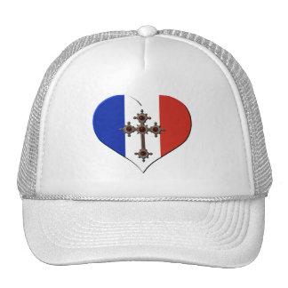 flag christianity French Trucker Hat