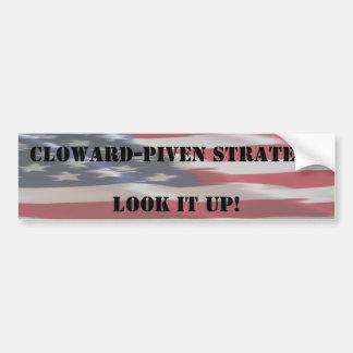 flag, Cloward-Piven StrategyLook it up, Cloward... Bumper Stickers