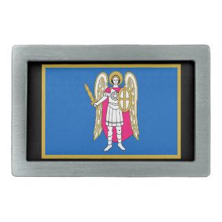 Flag / Coat of Arms of Kiev, Ukraine Saint Michael Belt Buckles