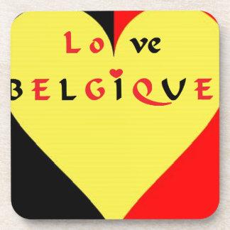 FLAG COILS BELGIQUE.png Beverage Coaster